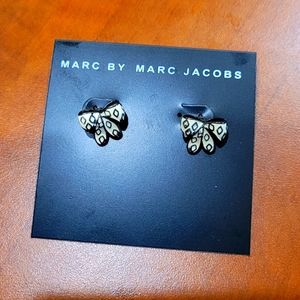 NEW Marc Jacobs bow earrings